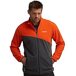 Regatta - Orange/grey jonah fleece