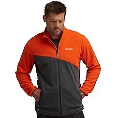 Regatta - Orange/grey jonah fleece