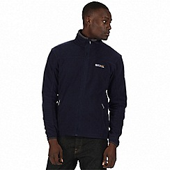 Regatta - Navy/grey stanton ii fleece