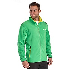 Regatta - Bright green stanton fleece