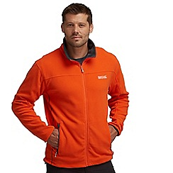 Regatta - Orange/grey stanton ii fleece