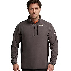 Regatta - Seal grey/black breaktrail fleece