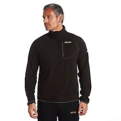 Regatta - Black breaktrail fleece