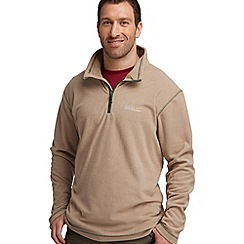 Regatta - Beige lifetime half zip fleece
