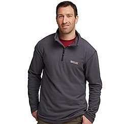Regatta - Dark grey lifetime half zip fleece