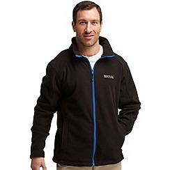 Regatta - Black (blue) hedman fleece