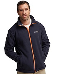 Regatta - Navy (orange) hedman fleece