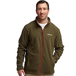 Regatta - Khaki green hedman fleece