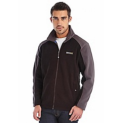 Regatta - Black / iron hedman fleece