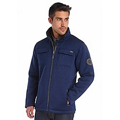 Regatta - Navy pinaza full zip fleece