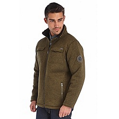 Regatta - Khaki pinaza full zip fleece