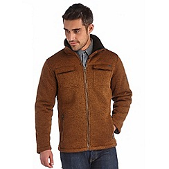 Regatta - Brown pinaza full zip fleece