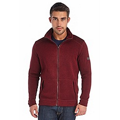Regatta - Burgundy baize full zip fleece