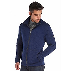 Regatta - Navy baize full zip fleece
