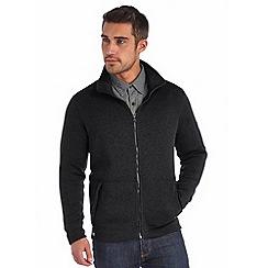Regatta - Black baize full zip fleece