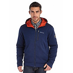 Regatta - Navy hendrel hooded fleece