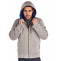 Regatta - Grey hendrel hooded fleece