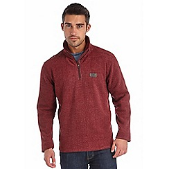 Regatta - Burgundy layton fleece