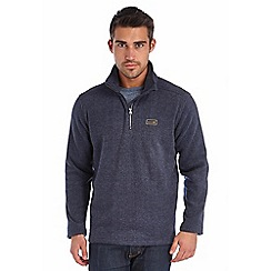Regatta - Navy layton fleece