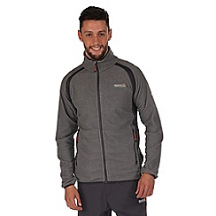 Regatta - Light grey mons lightweight fleece jacket