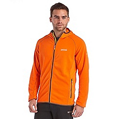 Regatta - Orange addison hooded fleece