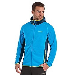 Regatta - Blue addison hooded fleece