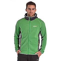 Regatta - Green addison hooded fleece