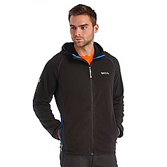 Regatta - Black addison hooded fleece