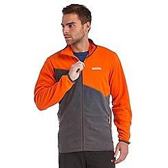 Regatta - Orange / grey jonah fleece
