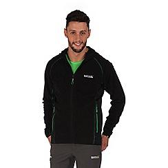 Regatta - Black addison sporty fleece jacket