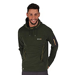 Regatta - Green montem hooded fleece