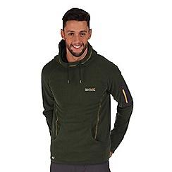 Regatta - Green montem hooded fleece