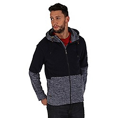 Regatta - Navy markham hooded fleece