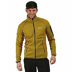 Regatta - Yellow Collumbus zip through fleece