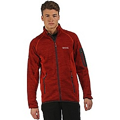 Regatta - Orange Collumbus zip through fleece