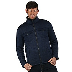 Regatta - Navy Pikes fleece jacket