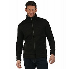 Regatta - Black Braizer zip through fleece