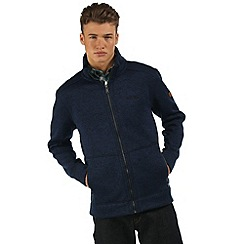 Regatta - Navy Braizer zip through fleece