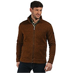 Regatta - Brown Braizer zip through fleece