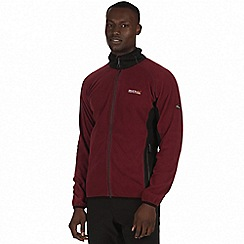 Regatta - Maroon 'Ashton' fleece