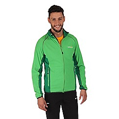 Regatta - Green ashton zip through fleece