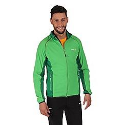 Regatta - Green ashton zip through fleece