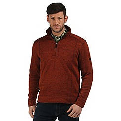 Regatta - Orange Lincon fleece sweater