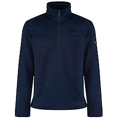 Regatta - Navy Lincon fleece sweater