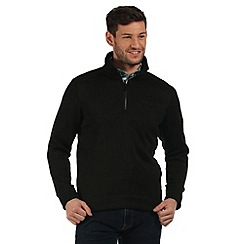Regatta - Black Lincon fleece sweater