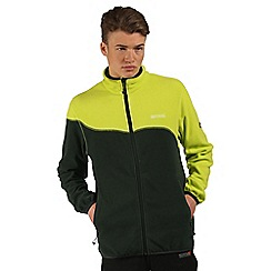 Regatta - Green Jonah symmetry fleece