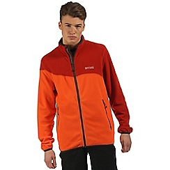 Regatta - Orange Jonah symmetry fleece