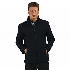 Regatta - Navy Gibben zip through fleece