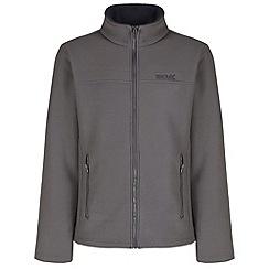 Regatta - Grey Gibben zip through fleece