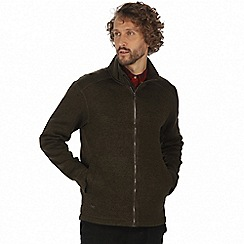 Regatta - Green 'Braden' lightly textured fleece